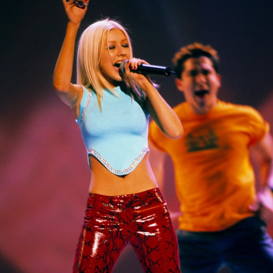 Christina Aguilera '90s Style Pictures