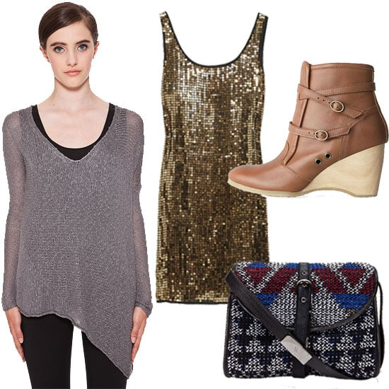 How to Wear Sequins For Daytime