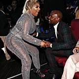 Lil' Kim and Floyd Mayweather Jr.