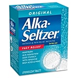 You Only Need One Alka-Seltzer