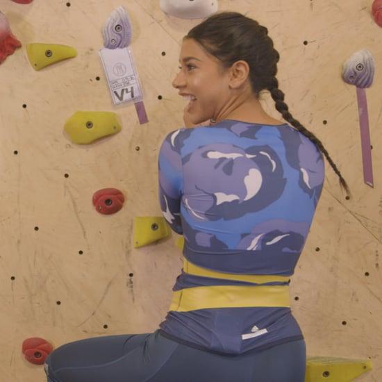 Hannah Bronfman Bouldering Workout