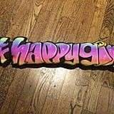Graffiti Name Pillow