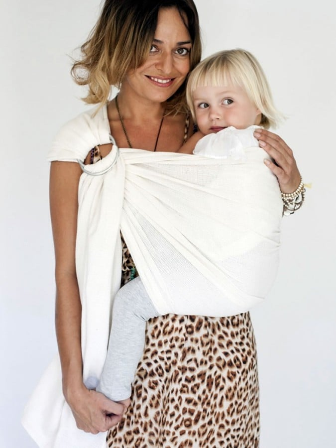 Hug A Bub Ring Sling In Cream Mesh 69 95 If Your Baby S Due In