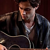 Penn Badgley stars as Jeff Buckley.