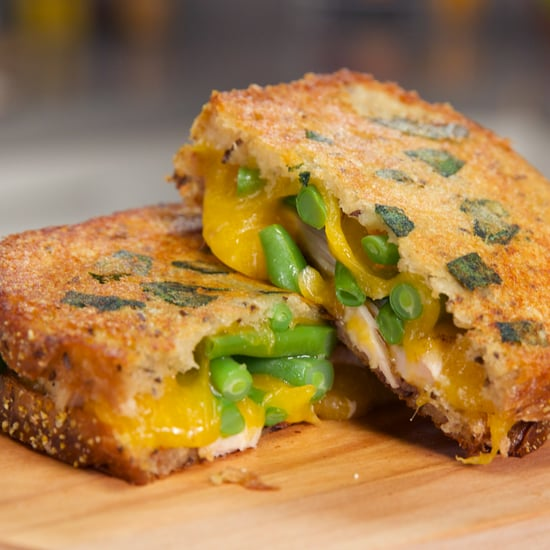 Thanksgiving Grilled Cheese Sandwich Recipe