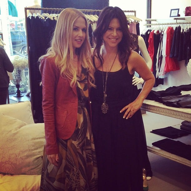Rachel Zoe posed for photos at an in-store fashion event.  Source: Instagram user rachelzoe