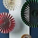 Glittered Paper Fan