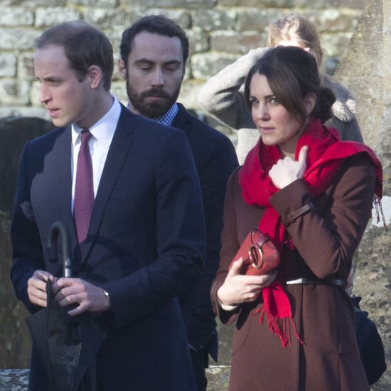 Pregnant Kate Middleton and Prince William on Christmas Pics