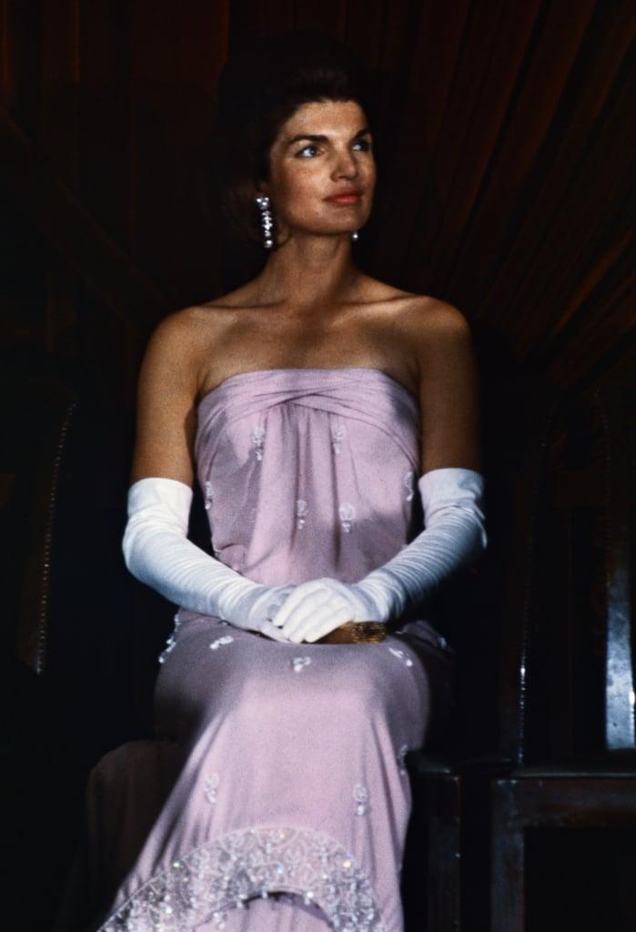 Jackie Kennedy Dresses: Celebrities Wearing Long Gloves