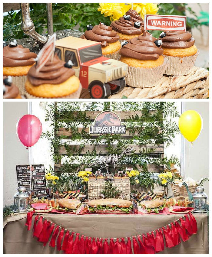 A Roaring Jurassic Park Birthday Party