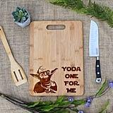Yoda One For Me Cutting Board