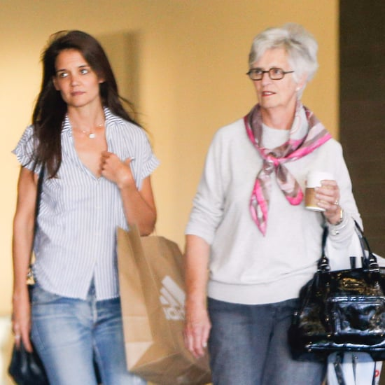 Katie Holmes and Her Mom Shopping in LA October 2016