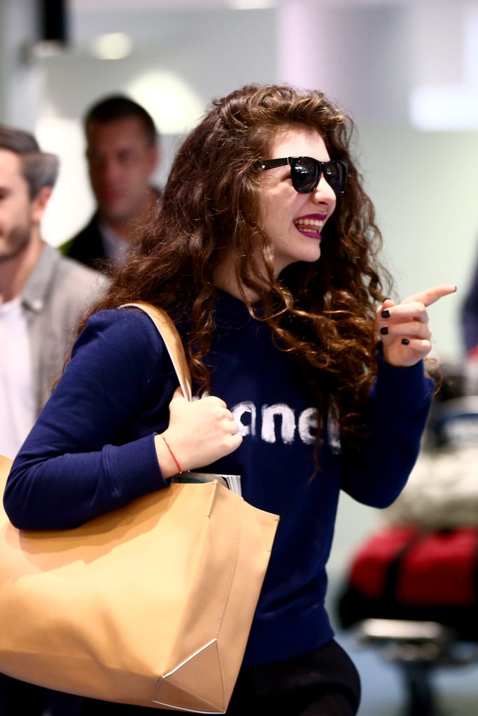 Lorde Heads Home to a Hero's Welcome