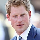Pince Harry looked sharp in Rawson Square ahead of an opening of the Queen's Jubilee Exhibition on Sunday.