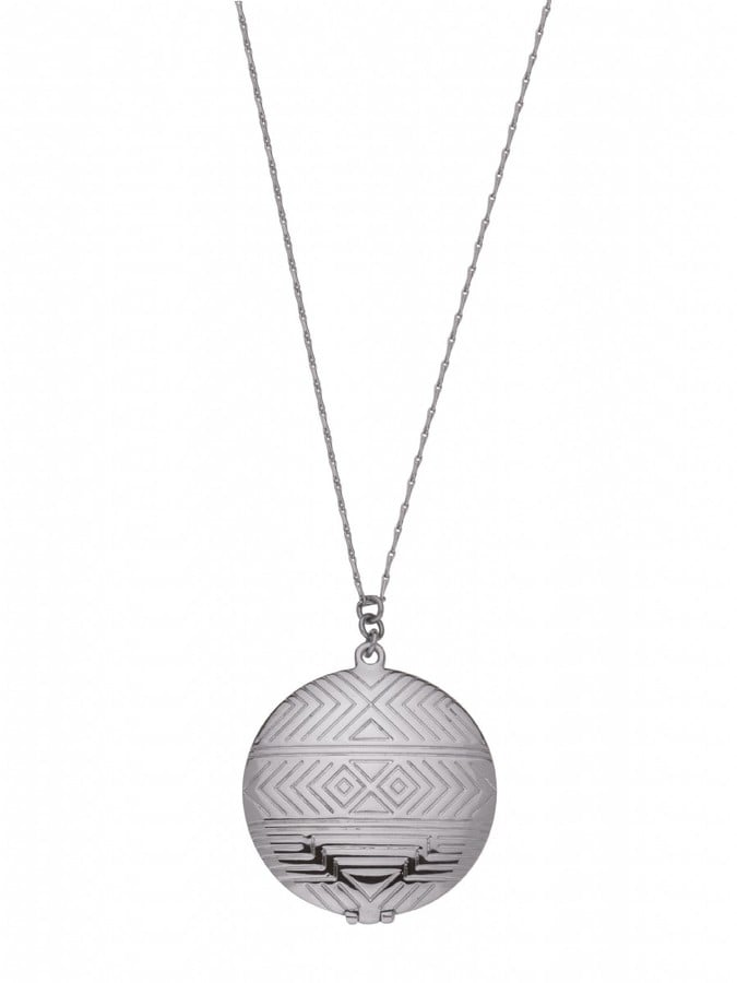 For Her: Locket Necklace Silver