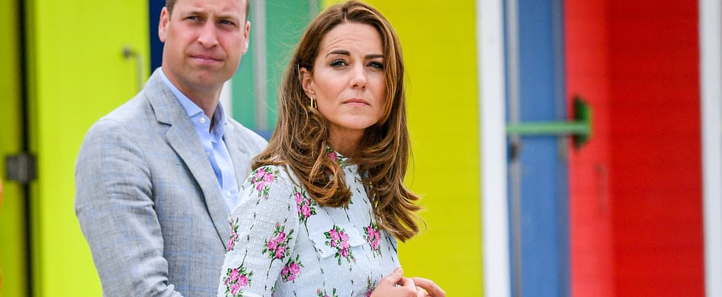 Kate Middleton Wears Floral Emilia Wickstead Dress Again