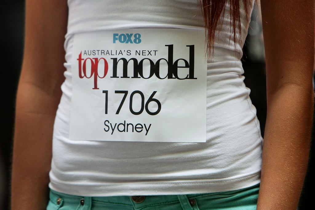 Jennifer Hawkins Looked Chic for Australia's Next Top Model Sydney Auditions