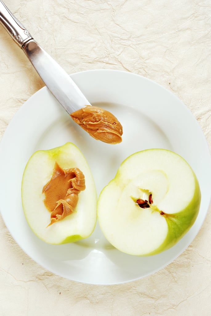 Almond Butter and Apple Slices
