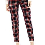 These Joe Fresh cropped plaid pants ($49) will look perfect with pumps and a slim blazer.