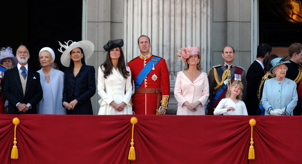 أوّل حدث Trooping the Colour تحضره كيت