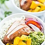 Paleo Burrito Bowls With Mango Salsa