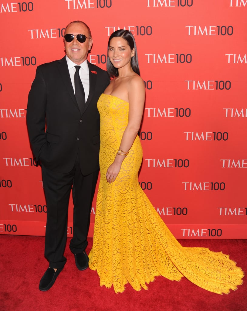 Michael Kors and Olivia Munn