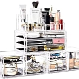 Dream Genius Four-Piece Acrylic Cosmetic Storage Display Boxes
