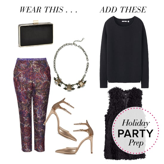 what to wear for a party when its cold