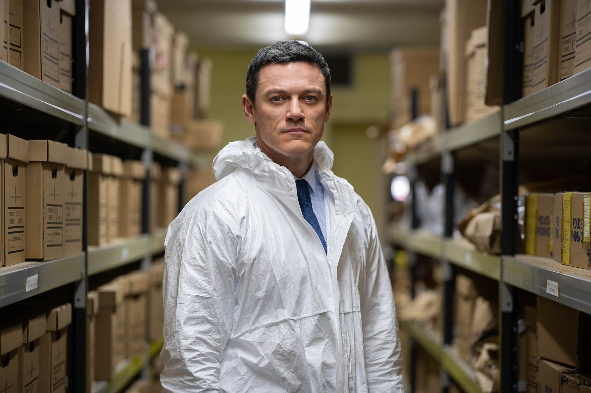 WORLD PRODUCTIONS FORITVTHE PEMBROKESHIRE MURDERSEPISODE 1Pictured: LUKE EVANS as Steve Wilkins.This photograph must not be syndicated to any other company, publication or website, or permanently archived, without the express written permission of ITV Picture Desk. Full Terms and conditions are available on  www.itv.com/presscentre/itvpictures/termsFor further information please contact:Patrick.smith@itv.com 07909906963