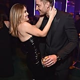 Pictured: Chrishell Stause and Justin Hartley