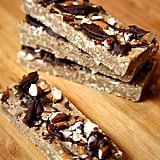 Vegan Chocolate Almond Bars