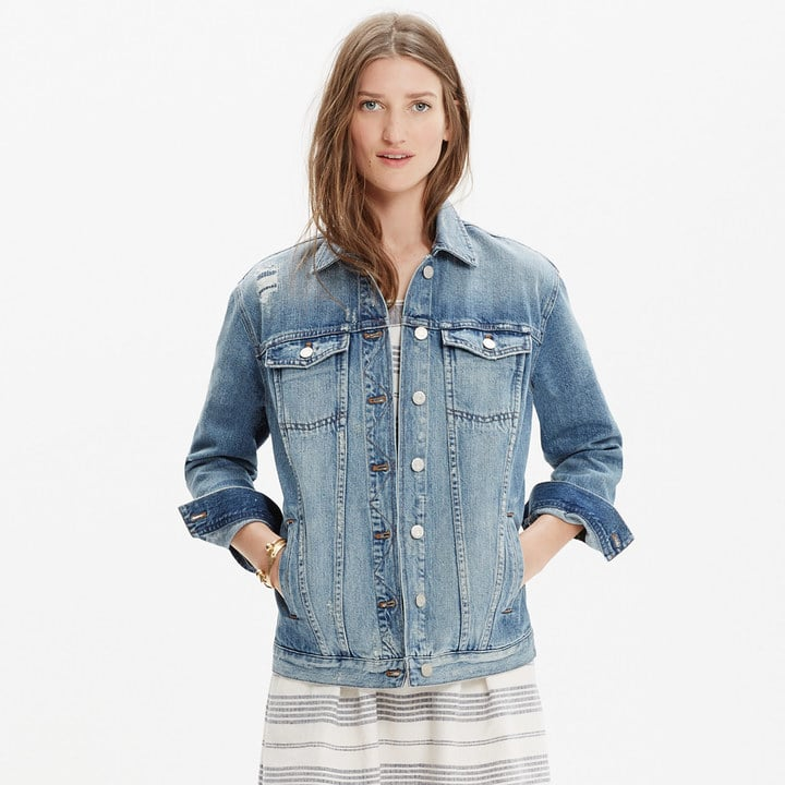 The Oversize Jean Jacket