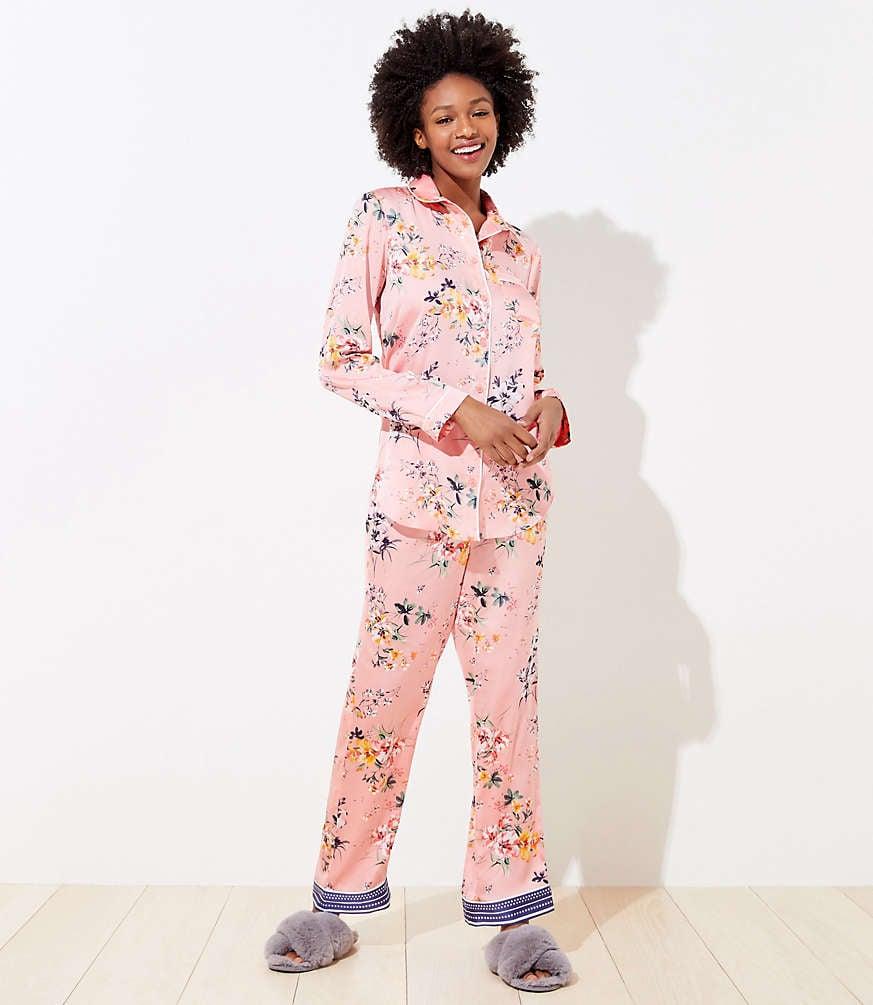 Libra: A Silky Pajama Set
