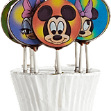 Chocolate Mini Lollipops ($24)