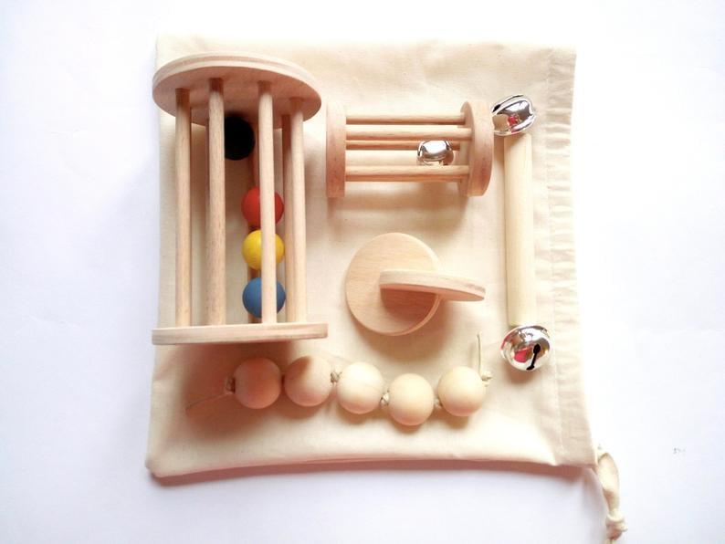 Montessori Baby Shower Gift Set