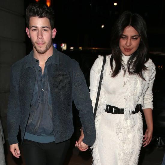 Priyanka Chopra White Dress With Nick Jonas