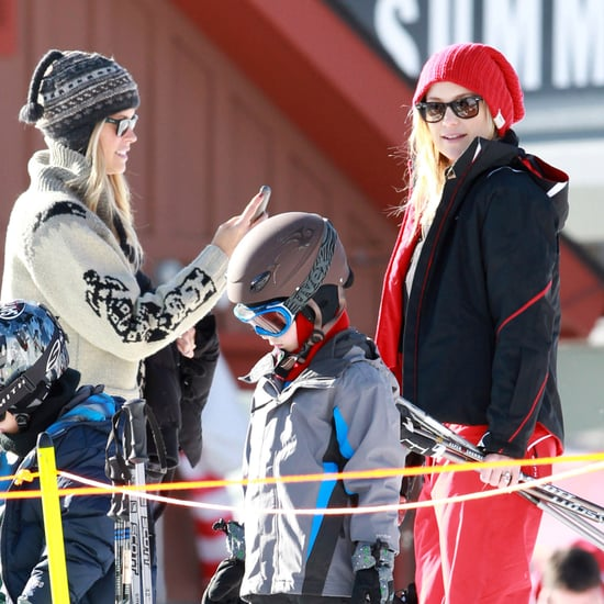 Kate Hudson and Matthew Bellamy Ski in Aspen Pictures