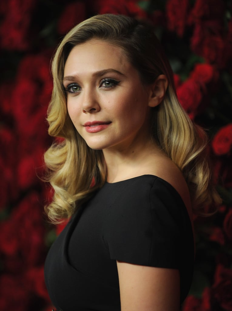 Elizabeth Olsen went for old-Hollywood glamor at the 2011 Museum of Modern Art Film Benefit.