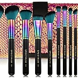 Spectrum Sassy Siren 12 Piece Make-up Brush Set & Roll