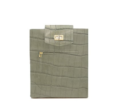 Be&D Stamped Crocodile iPad Case ($248, on sale for $124)