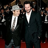 Robert Downey Jr. and Keanu Reeves walked the red carpet in 2006.