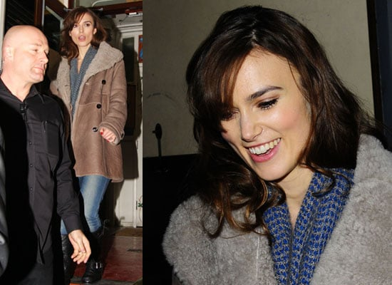 Photos of Keira Knightley After First Performance of The Misanthrope in London