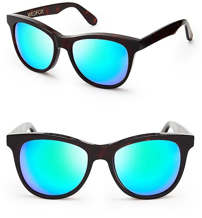 Wildfox Catfarer Deluxe Mirror Sunglasses ($179)