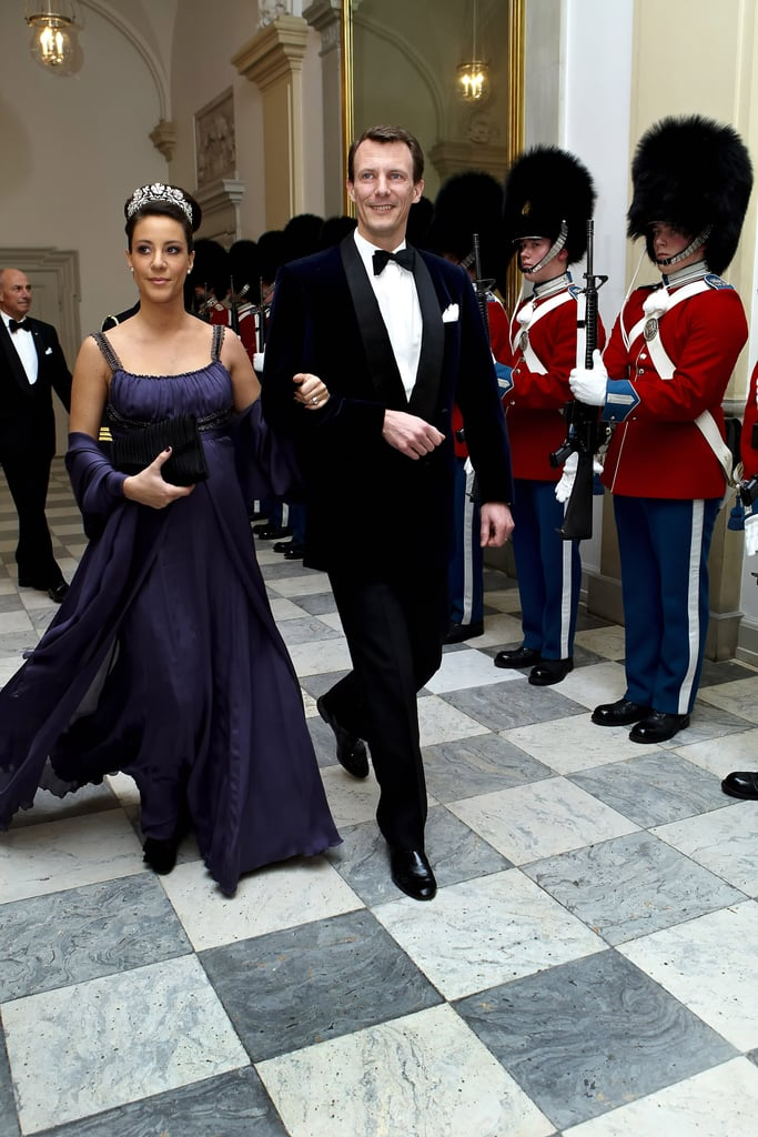 Princess Marie's Power Color Is a Deep Purple