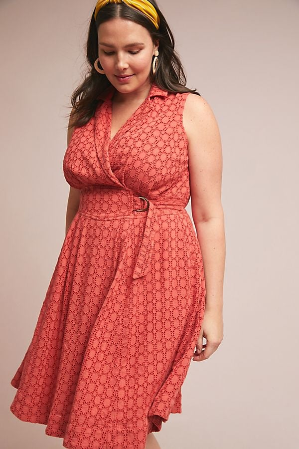 Elm Collared Dress   Anthropologie Plus Size Line   POPSUGAR Fashion ...