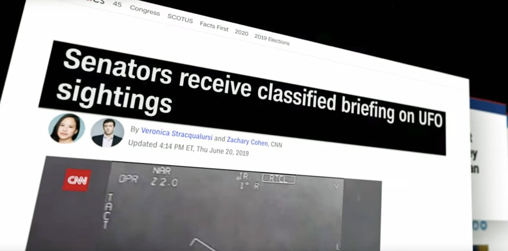 The Pentagon Confirms UFOs Are Real
