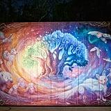 Disney's Animal Kingdom: Photo Wall on Discovery Island