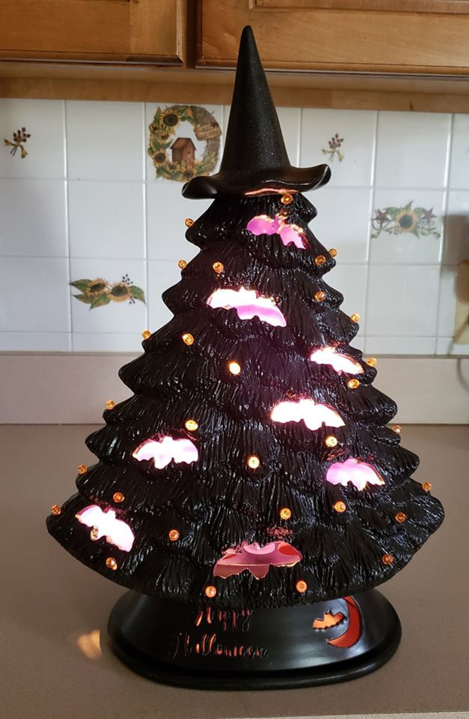 8 Ceramic Halloween Trees You Can Shop Right Now Popsugar Home