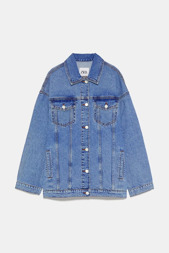 Zara Oversized Denim Jacket