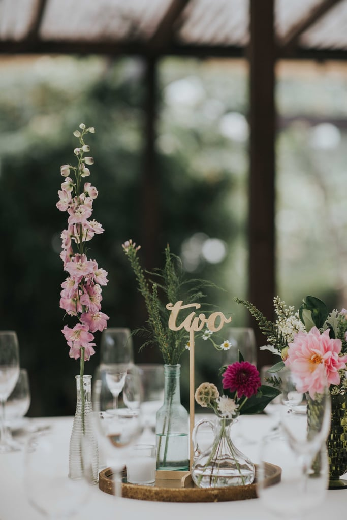 Less Is More Centerpieces Wedding Trends 2018 Popsugar Love